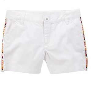 Carter's Toddler Girls Embellished Twill Shorts 2T